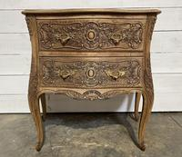 Stylish French Bleached Oak Commode Chest (11 of 20)