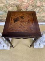 19th Century Carved Mahogany Occasional Table (5 of 7)