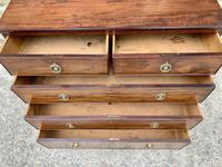 Small Antique Georgian Mahogany Chest of Drawers (13 of 16)