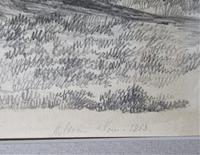John Berney Ladbrooke Attributed, Norwich School 1853, Fine Large Sketch (3 of 5)