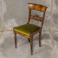 Set of Four William IV Mahogany Dining Chairs (5 of 7)