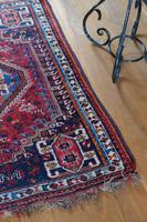 Vintage Persian Handmade Rug with a Vibrant Red & Blue Ground (2 of 8)