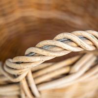 Wicker Log Basket (6 of 6)