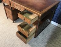 Victorian Oak Aesthetic Movement Desk (8 of 18)