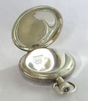 Antique Silver Waltham Pocket Watch 1917 (3 of 5)