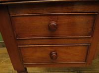 Slightly Wonky Antique Writing Table with Drawers (6 of 19)