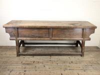 Unusual Oriental Elm Altar Table Sideboard (5 of 18)