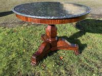 Flame mahogany Gueridon or centre table (6 of 7)
