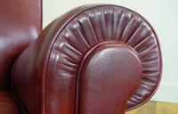 British 1940s Leather Club Armchairs we Have 2 (12 of 12)