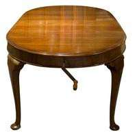Mahogany Oval Dining Table c1900 (5 of 5)