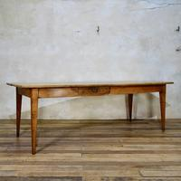 A 19th Century French Fruitwood Farmhouse Table (2 of 5)