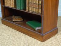 Neat 19th Century Mahogany Bookcase Cabinet (4 of 8)