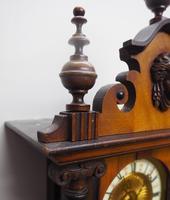 Fantastic Rare Victorian 8-day Wall Clock – Small Antique Striking Vienna Wall Clock (6 of 17)