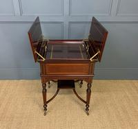 """Inlaid Mahogany """"Surprise"""" Drinks Table (5 of 15)"""