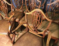 Quality Set of Eight Mahogany Dining Chairs (16 of 18)