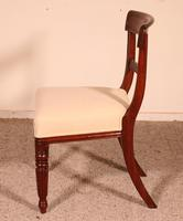 Set of 8 Mahogany Chairs Early 19th Century (9 of 10)