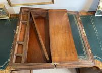 Victorian Brass-bound Walnut Writing Slope with Secret Drawers (13 of 39)