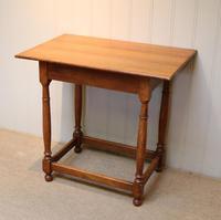 Light Oak Side Table (4 of 8)