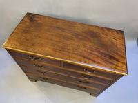 George III Mahogany Chest of Drawers (9 of 16)