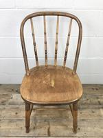 Set of Four Antique Bentwood Chairs (5 of 8)