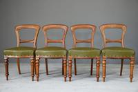 4 Victorian Mahogany Dining Chairs (3 of 12)