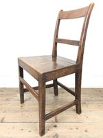 Two Similar 19th Century Oak Bar Back Farmhouse Chairs (6 of 10)