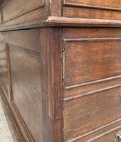 Huge Antique Victorian Oak Partners Desk (24 of 24)