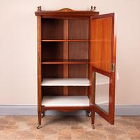 Inlaid Rosewood Music Display Cabinet (4 of 15)