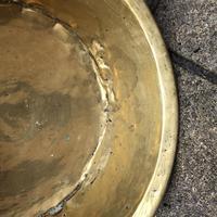 18th Century Brass Cream Pan - Log Bin (6 of 7)