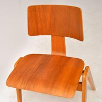 1950's Set of 6 Robin  Day Hillestak Dining Chairs for Hille (6 of 9)