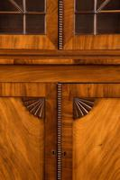 Regency Period Mahogany Bookcase with Matching Flared Panels to the Bottom Doors (2 of 6)