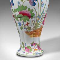 Antique Baluster Posy Vase, English, Ceramic, Decorative, Flower Urn c.1920 (10 of 12)