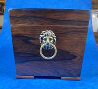 William IV Rosewood Tea Caddy With Mother of Pearl Inlay (6 of 15)