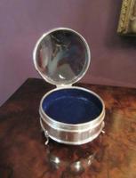George V Silver & Tortoiseshell Ring Box (2 of 5)