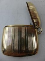 Antique 9ct Gold Vesta Case Birmingham 1911 (5 of 6)