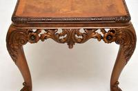 Antique Burr Walnut Queen  Anne Style Coffee Table (10 of 10)