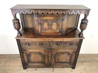 Antique English Oak Cupboard (m-2183) (2 of 10)