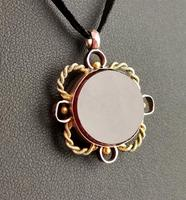 Antique 9ct Gold Compass Pendant, Carnelian (7 of 13)