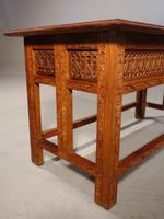 Beautifully Carved Late 19th Century Eastern Low Table (7 of 7)