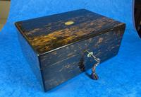 Victorian Coromandel Box with Mother of Pearl Escutcheons (9 of 14)