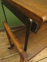 Vintage Metamorphic Oak Tea Trolley Table by Besway (16 of 18)
