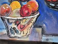 Michael Rothenstein R.A, Watercolour, Butterfly Kite & Fruit Bowl, 1988, Framed (3 of 5)