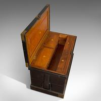Antique Master Shipwright's Chest, English, Mahogany, Tool Trunk, Victorian (3 of 12)