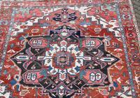Fine Antique Heriz Room-size Carpet 389x283cm (4 of 11)