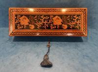 Victorian Satinwood Glove Box With Tunbridge Ware Inlay (7 of 12)