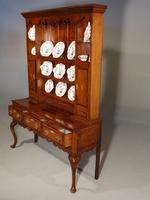 Fine Quality Late 19th Century Oak Dresser & Rack (4 of 5)