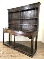 Antique 18th Century Welsh Oak Pot Board Dresser (20 of 26)