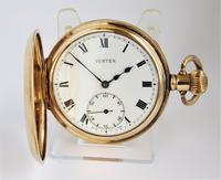1930s Vertex Half Hunter Pocket Watch (2 of 6)
