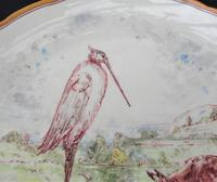 Emile Lessore for Wedgwood, Aesop's Fable Table Compote, 1865 - The Fox & The Stork (4 of 9)