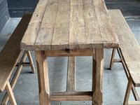Normandy Oak Farmhouse Table & Bench Set (12 of 19)